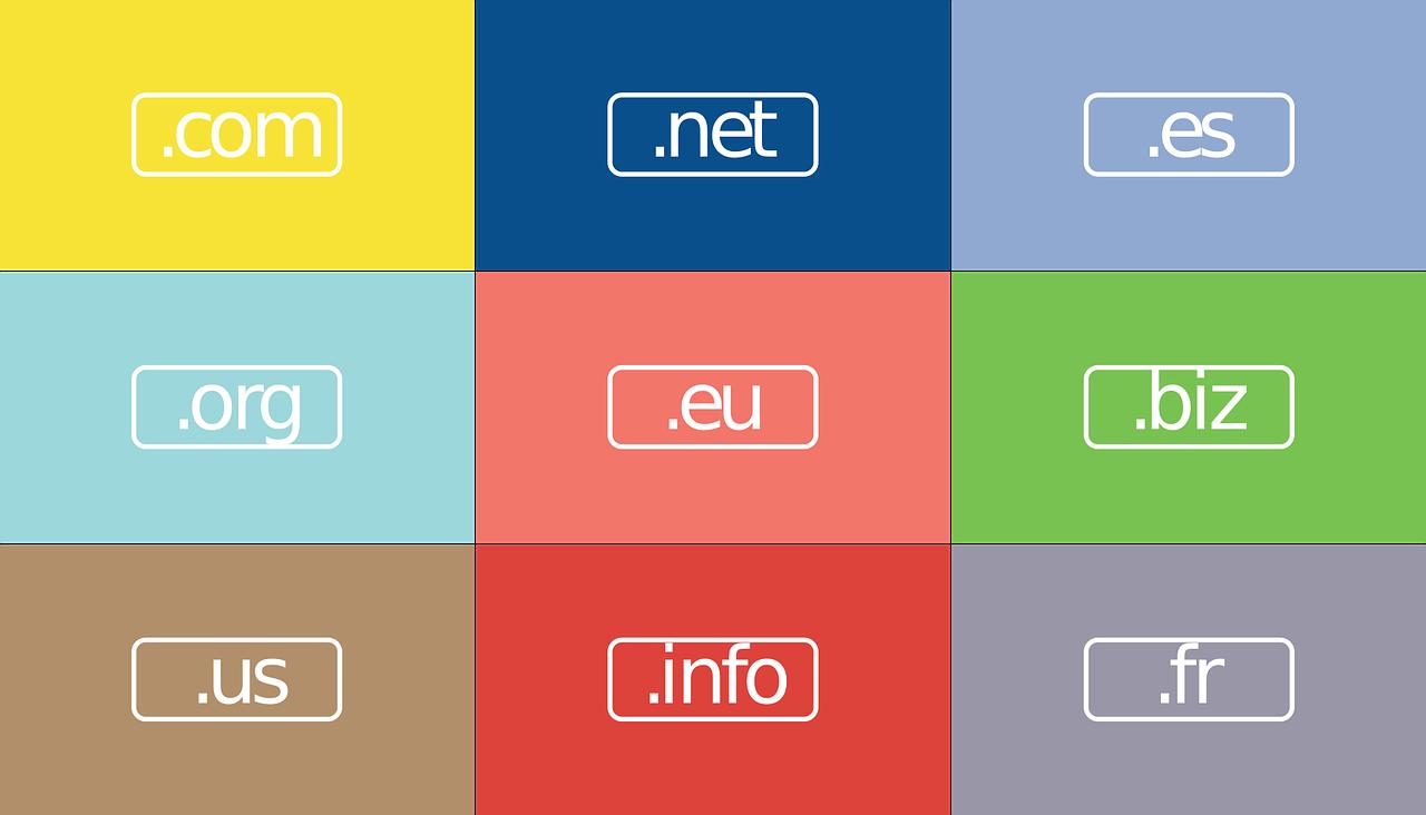 Empresas para registro de domínios